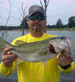 animal trapper large mouth bass lake Tennessee